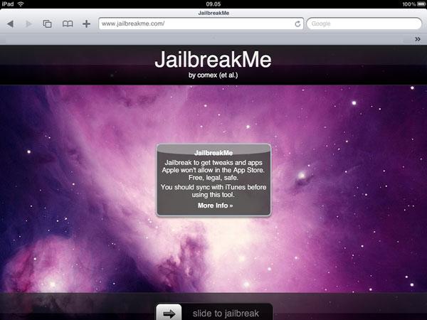 Jaibreak iPad