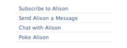 Facebook Subscription