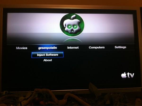 AppleTV jailbroken