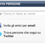 Integrare Twitter e Ping