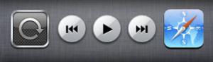 iPhone Miniplayer