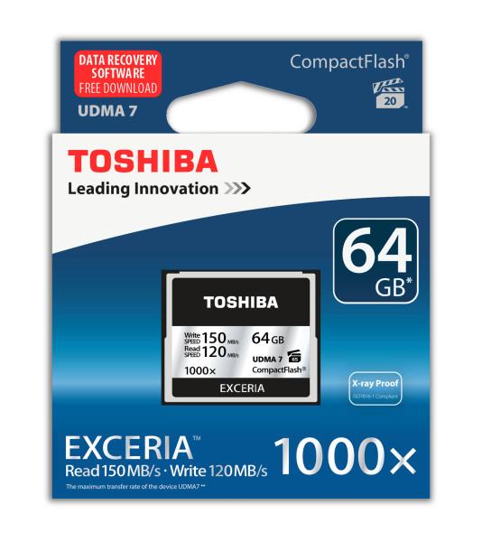 Compact Flash Toshiba Exceria nerdvana 01