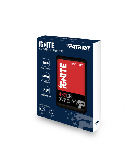 Patriot Ignite 240GB nerdvana