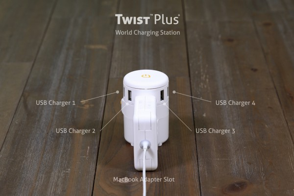 TWIST Plus World Charging Station nerdvana