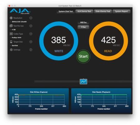 Inateck CA1002 nerdvana AJA System Test
