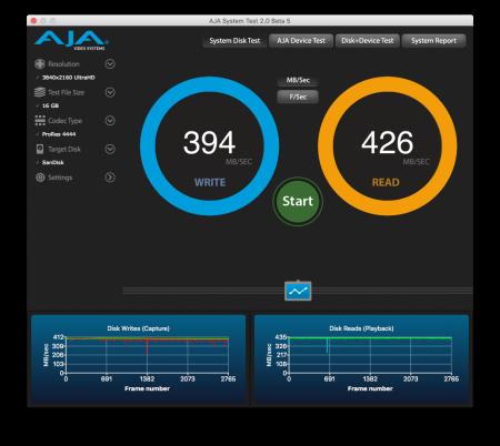 Inateck FD1003 nerdvana AJA System Test