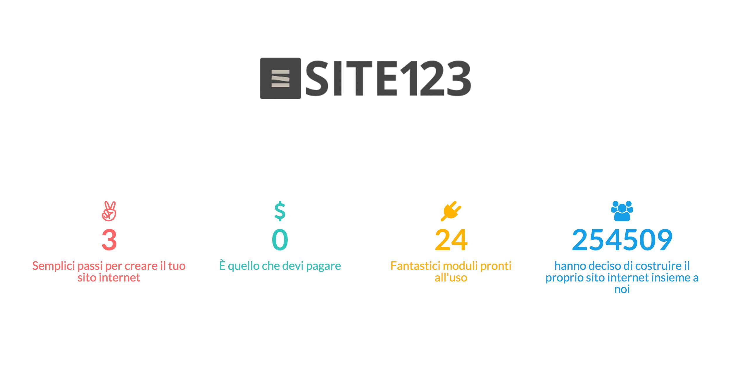 Site123: website builder
