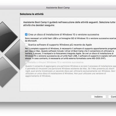 chiavetta avviabile Windows da Mac nerdvana