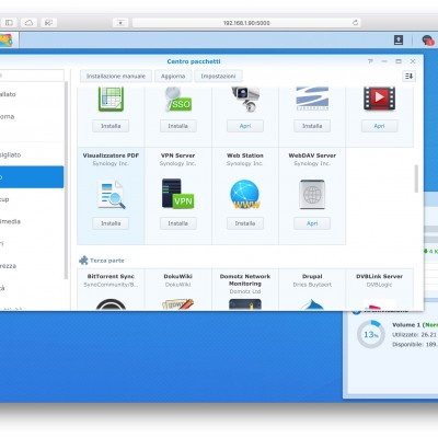 NAS Synology DS216play nerdvana