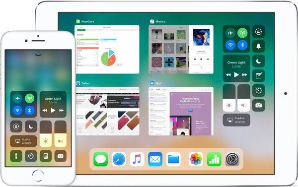 Dati cellulare Centro di controllo iOS 11 nerdvana
