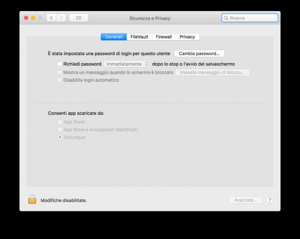 Aprire app di terze parti macOS High Sierra Dovunque nerdvana