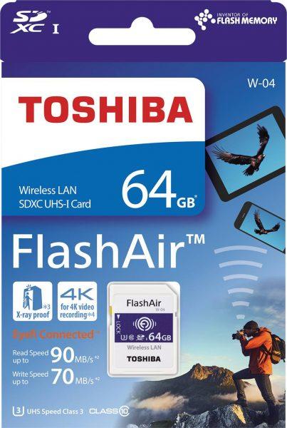 Toshiba FlashAir W-04 nerdvana