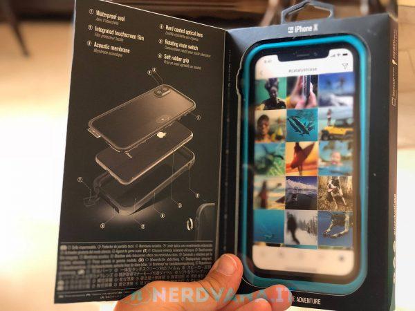 Catalyst Waterproof Case per iPhone X nerdvana