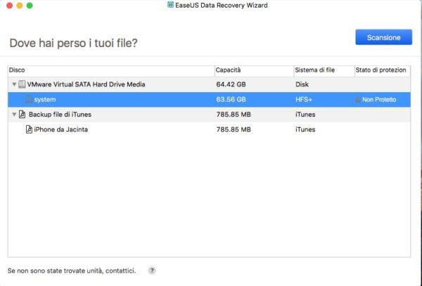 EaseUS Data Recovery Wizard per Mac Free nerdvana